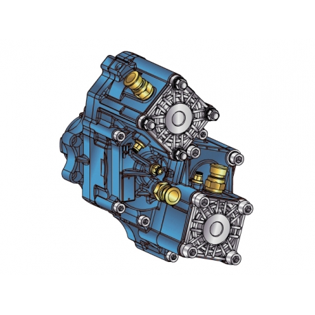 Power take-offs - PZB - 421SB115W66 PTO POS. H. D. D.U. SCANIA GR 875