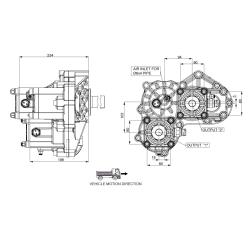 Power take-offs - PZB - 421VH115W11 PTO POS. H. D. D.U. VOLVO VT C