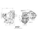 Power take-offs - PZB - 421VI115W15 PTO POS. H. D. D.U. VOLVO VT C