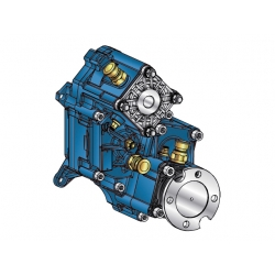 Power take-offs - PZB - 421ZA115W15 PTO POS. H. D. D.U. ZF ECOSPLIT