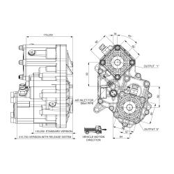 Power take-offs - PZB - 421ZB115W31 PTO POS. H. D. D.U. ZF ECOSPLIT
