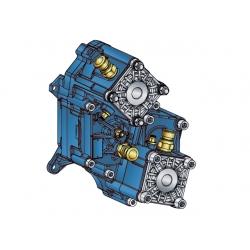 Power take-offs - PZB - 421ZB115W51 PTO POS. H. D. D.U. ZF ECOSPLIT