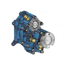 Power take-offs - PZB - 421ZC115U51 PTO POS. H. D. D.U. ZF ECOSPLIT