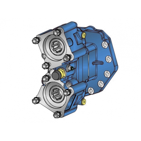 Power take-offs - PZB - 423M2115W11 PTO POS. M. D. D.U. MERCEDES G240 (ACTROS)
