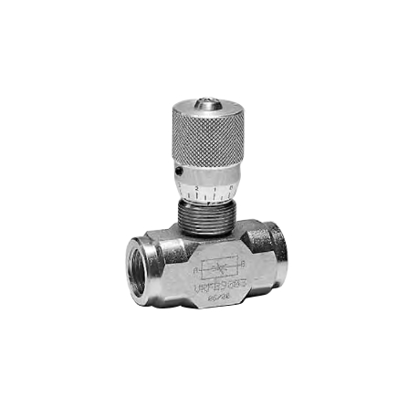 90° BIDIRECTIONAL FLOW REGULATOR