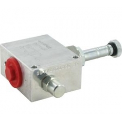 2-way electric valves, pilot-operated, poppet type - NC - normally closed