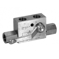 Pilot operated check valve single acting-LEFT