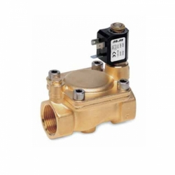 "2/2 WAY PILOT OPERATED SOLENOID VALVE, G 1"" NORMALLY CLOSED"