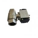Double acting pneumatic actuator