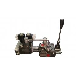 Distributori Monoblocco elettroidraulico SD5/1 UNA LEVA