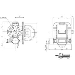 Prese di forza - RZB - 4288A PTO LAT. H. D. SCANIA GRS 895