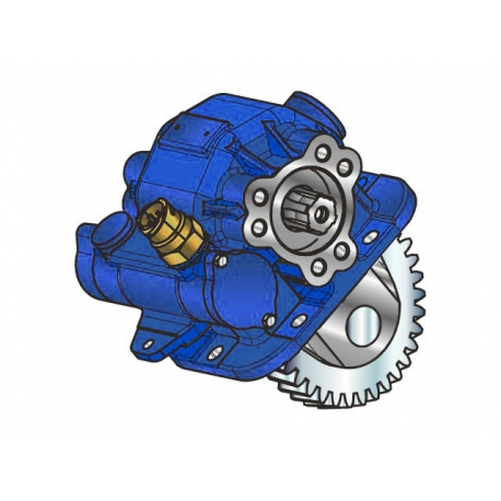 Prese di forza - PZB - 42971675P42 PTO LAT. L. D. MITSUBISHI M038S5 ( MT )